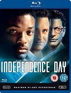 Independence Day (Blu ray) £2.50 Amazon Prime - Non Prime £4.49 - Sold by Discs4all / Fulfilled by Amazon