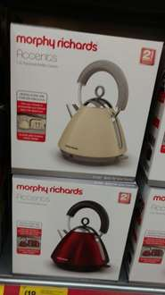 morphy richards kettle and toaster £18 each @ morrisons