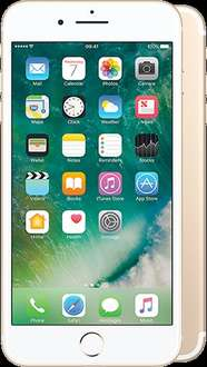 Iphone 7 PLUS 128GB gold @ £37 per month / 3GB data / 6months half price line rental +TCB - TOTAL £1000.99 before CB mobilephonesdirect