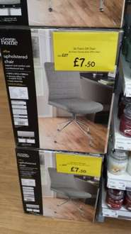 Office upholstered chair - was £27.50 now £7.50 @ Asda living instore (Leeds)