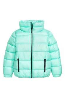 Girl's quilted jacket down to £5.99 from £19.99 @ H&M