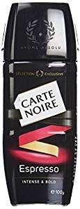 100g Carte Noire Espresso £2.24 in Tesco instore