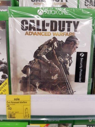 call of duty advance warefare £10 @ Asda