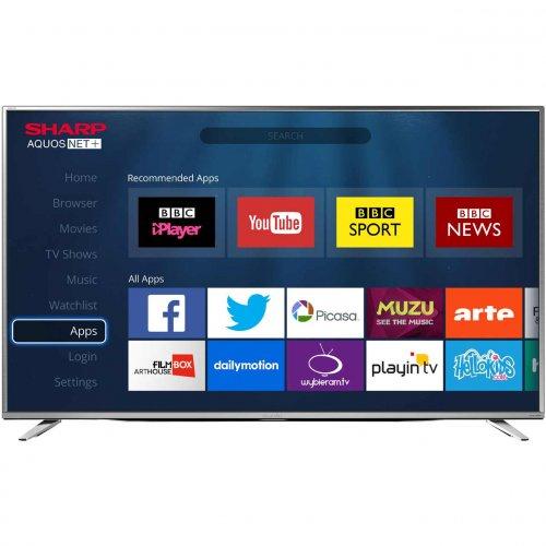 "Sharp  LC-55CUG8462KS 55"" Smart 4K Ultra HD TV  £381.60  ao.com with code"