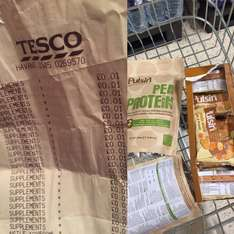 Pulsin protein products 1p instore @ Tesco - Havant & Portsmouth