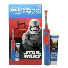 Oral B Stages Star Wars rechargeable toothbrush and toothpaste set £4.38 at Asda - Fleetwood
