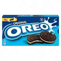 Oreo 4 packs of 4 220g just 25p rrp £1.25 @ poundstretcher