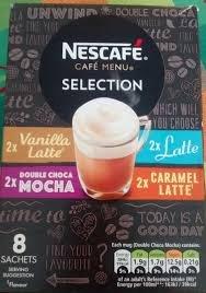 Nescafe Menu Selection 8pk 156g 99p in home bargains