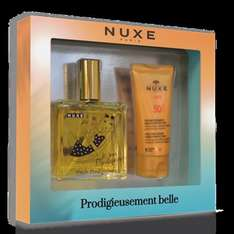 Nuxe up to 70% off code for £5 off £30 spend + free samples