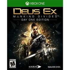 Deus Ex: Mankind Divided Xbox One & PS4 Day One Edition £16 @ Tescodirect