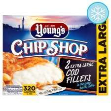 TESCO - Youngs 2 Cod fillets £4.00 now down to £1.00 instore