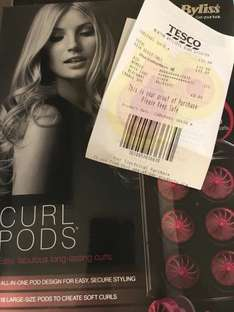 Babyliss Curl Pods £15 - Instore at Tesco (Newton Aycliffe)