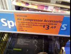 Air compressor Accessories £3.49 @ Aldi stourbridge