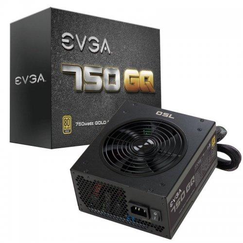 EVGA 750 GQ Modular Gold Rated 80+ Power Supply - £74.93 @ eBuyer