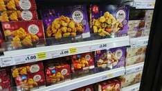 Tesco instore frozen party food reduced to clear from 50p, 60 piece platters £2 (details in post)