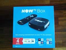 Now TV Box Sainsbury's £10 Kids Package instore