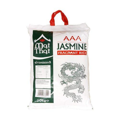 5kg bag of Thai Jasmine rice,  £4.00 at Asda
