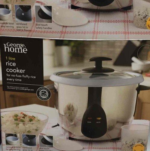 Asda brand Rice Cooker £10 instore