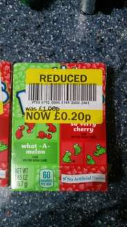 nerds 20p instore at tesco Westwood