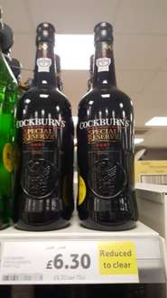 Cockburns Special Reserve 75cl £6.30 instore @ Tesco
