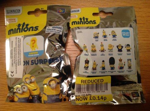 Minions surprise figure in a bag. 14p instore @ Tesco - Walkden