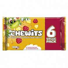 Chewits fruit salad x6 in a pack just 50p @poundstretcher
