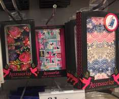 Accessorize iPhone 6 cover 99p @ homebargains also had Samsung galaxy s4 and iPhone 5s