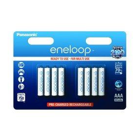 8 Panasonic Eneloop Rechargeable 750mAh Batteries AAA 8 pack £10.99 @ Maplin