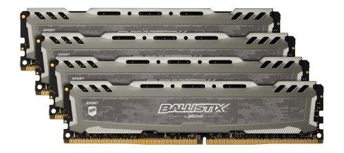 Ballistix Sport LT 16GB Kit (4GBx4) DDR4 2400 MT/s (PC4-19200) - £68.99 (On back order) @ Amazon