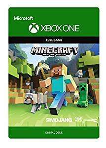 Minecraft Xbox One edition full game  [Xbox One - Download Code] £13.59  Amazon