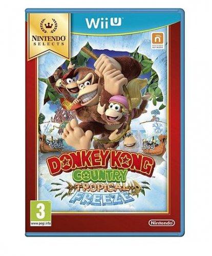 wii u donkey Kong topical freeze / wii party u £14 Tesco