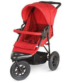 Xtreme 3 wheeler pushchair & car seat from birth in red with fab reviews was £270 now £110 delivered @ Mothercare