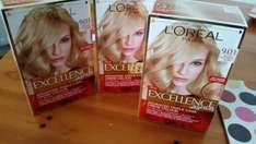 L'Oréal Excellence hair colour reduced to £1.75 Boots instore