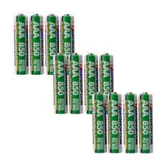 """7dayshop """"GOOD TO GO"""" AAA HR03 Pre-Charged NiMH Rechargeable Batteries 850mAh - Extra Value 12 Pack - £6.99 inc p&p"""