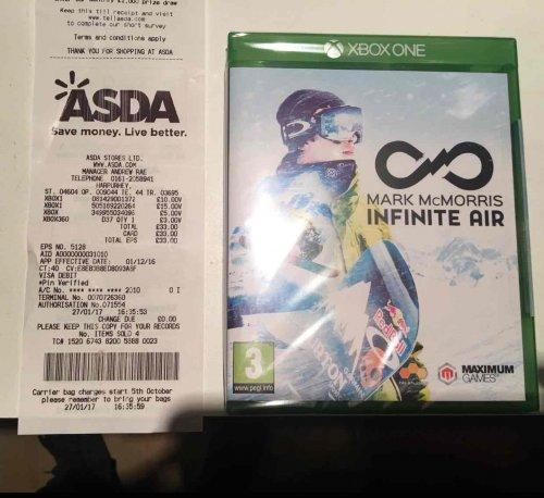 Mark McMorris Infinite Air Xbox One £10 @ ASDA
