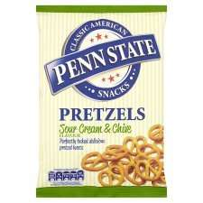 Penn State 175g Pretzels sour cream and chive £1 @ Tesco
