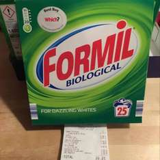 FORMIL BIO 25 WASHING POWDER 99p instore @ LIDL CHADDERTON / NATIONAL DEAL APPARENTLY