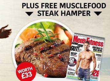 £33 Steak hamper for £5 with Men's Fitness