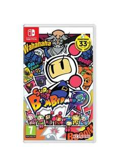 Super Bomberman R - slowly coming down near to release date £36.85 but then back up £38.85 now Nintendo Switch - Base.com