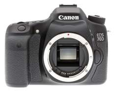 Canon EOS 70D Camera - Black (20.2MP) Body Only £429.00 @ Clearance Bargain Center - Stanley