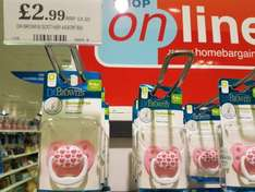 Dr Brown's soother/ pacifier / dummy - £2.99 @ Home Bargains