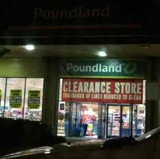 25% off everything @ Poundland York Clifton Moor retail park Closing down sale! 75p or less on everything!