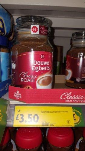Douwe Egberts Classic Roast 200g only £3.50 @ Morrisons