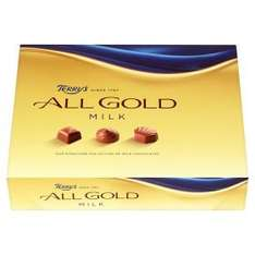 Terry's All Gold Milk or Dark Chocolate Box 380g, reduced from £7.00 to £3.00 at Asda