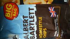 Albert Bartlett Homestyle Oven Chips 1.5kg Big Family Size £1.49 Farmfoods Newcastle