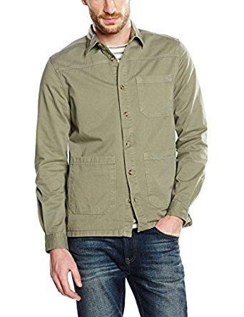 Burton Menswear London Men's Overshirt Casual Shirt £10.50 (Prime) £15.25 (Non Prime) @ Amazon