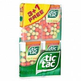 Tic tac lime and orange ,and mint 4 x18g £1 @ poundland