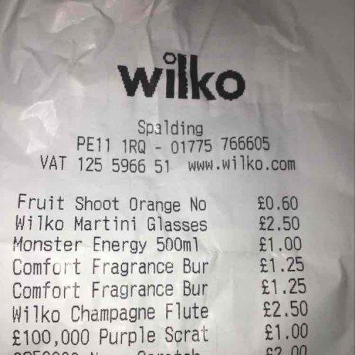 wilko martini and champagne glasses £2.50 instore @ Wilko