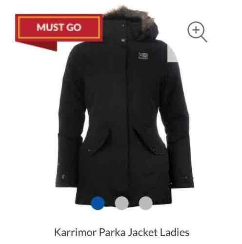 Karrimor Parka Jacket £38 + £4.99 delivery @ Sports Direct