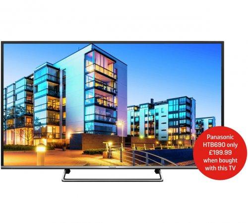 Panasonic TX-49DS500B 49IN DS500B Full HD Smart LED TV £379 @ Argos